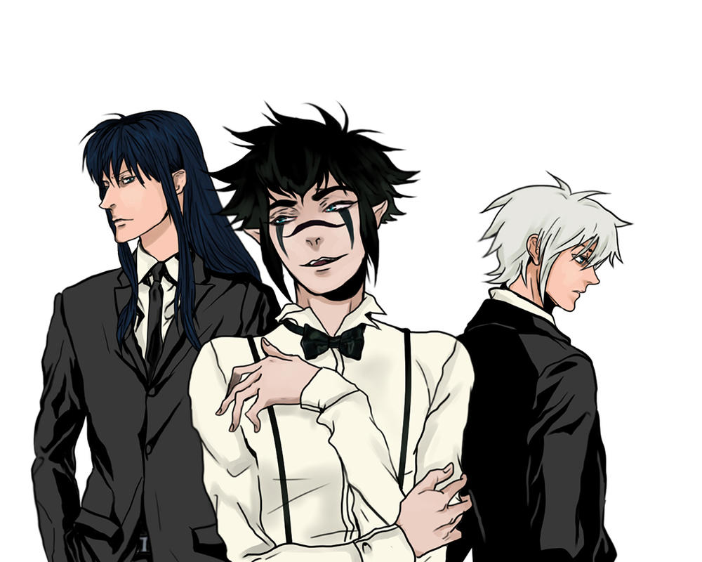 DGM trinity by Purple-Meow