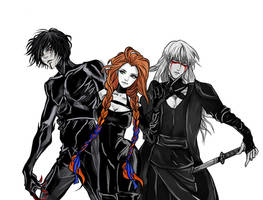 Hunter, Mage and Warrior