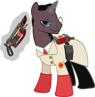 MLP:FIM TF2 - I'm going to saw through your bones! by ah-darnit