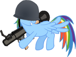 MLP:FIM-TF2 - Rainbow Dash the Soldier