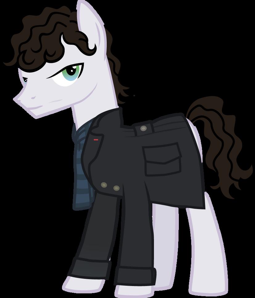 Pony request 167 -  BBC Sherlock Holmes by ah-darnit