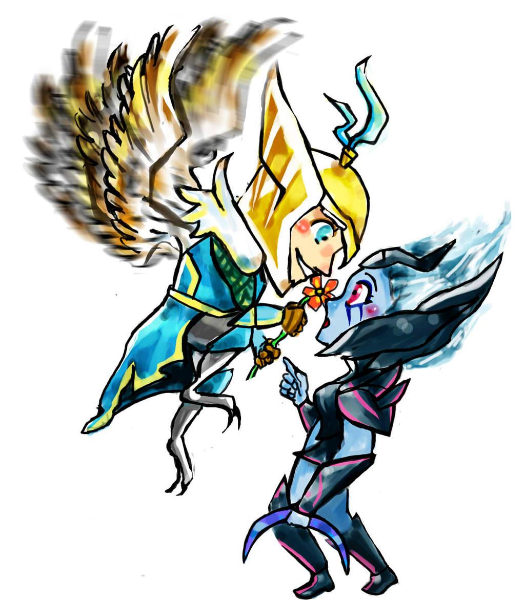 Skywrath Mage x Vengeful Spirit - Dota 2 by JunKazama15 on ...  Vengeful