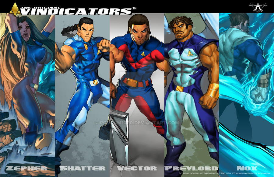 Vindicator banner poster by RODCOM1000