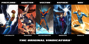 The Vindicators banner