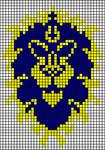 Alliance WoW xstitch pattern