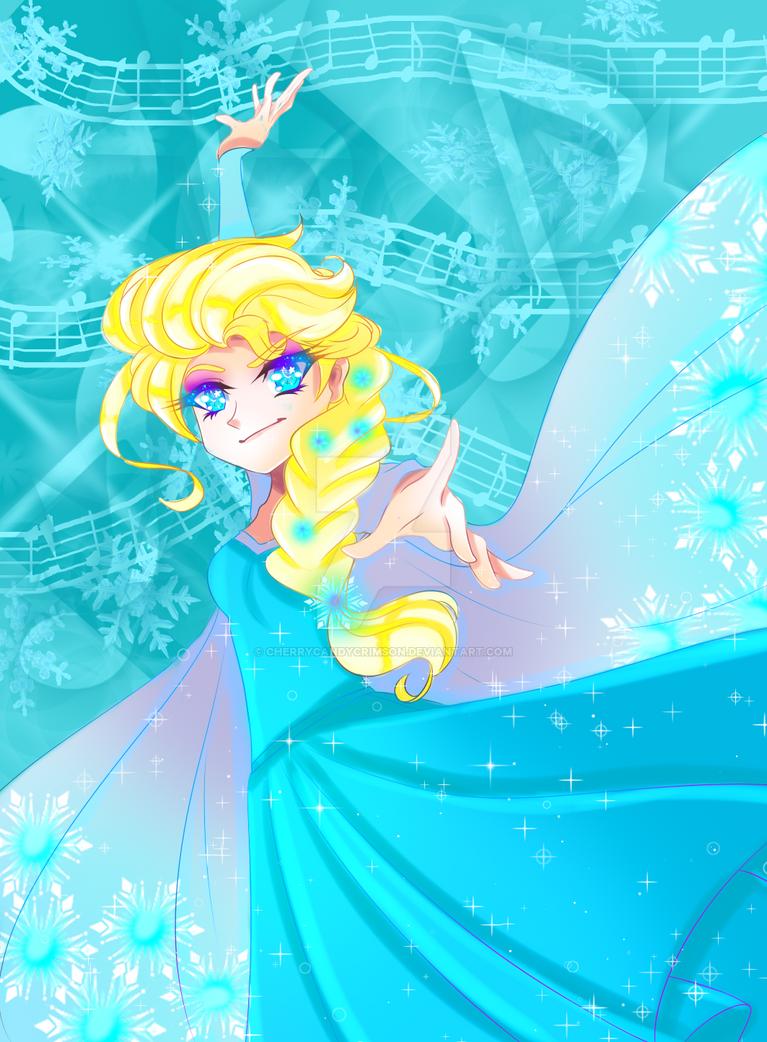 Collab-Elsa by CherryCandyCrimson