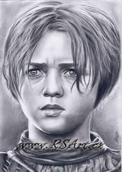 Arya Stark by Midaqle