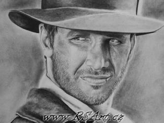 Indiana Jones by Midaqle