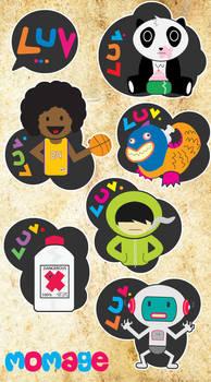 Stickers 2nd batch