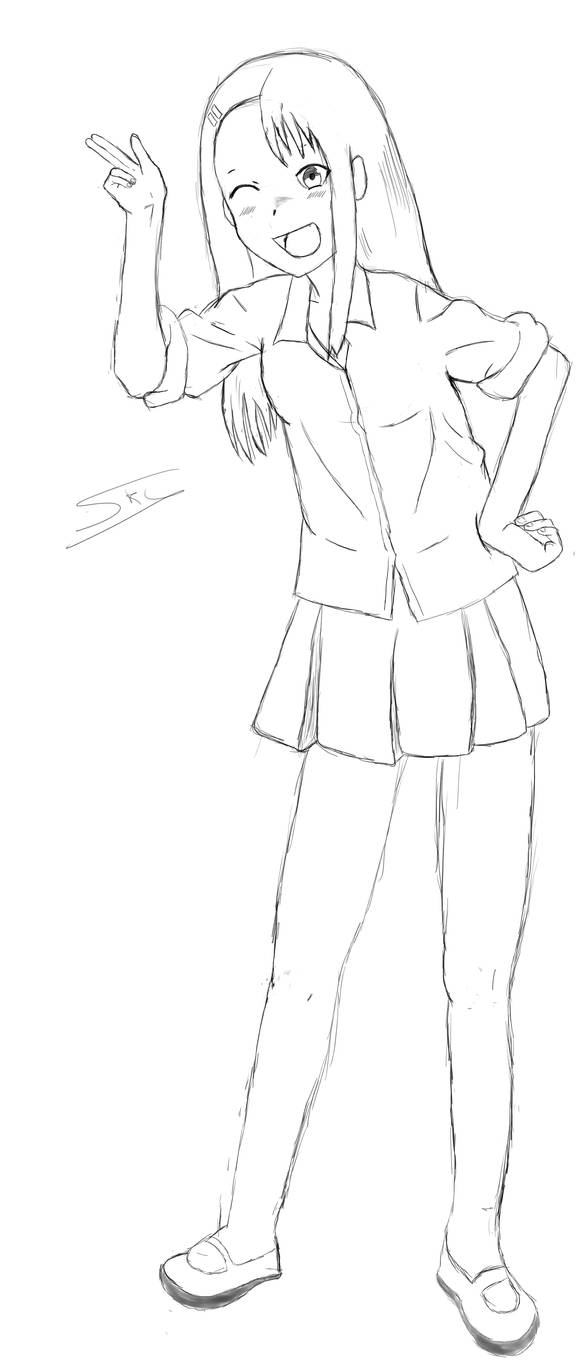 Nagatoro WiP by Skydevil55