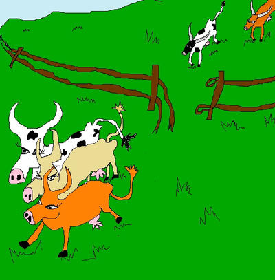 Free the cows by floxxx