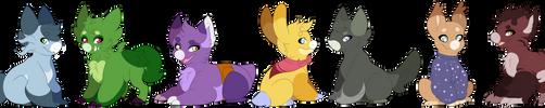 [Wyngro] Pwetty babies by Saretha