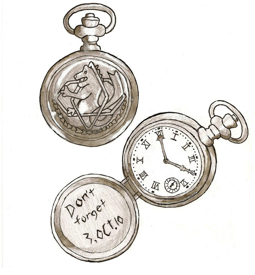 Fma Pocket Watch by AfroCairo on DeviantArt