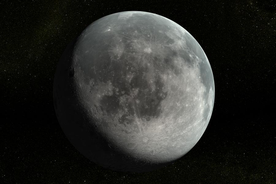The Moon by Ghostwalker2061