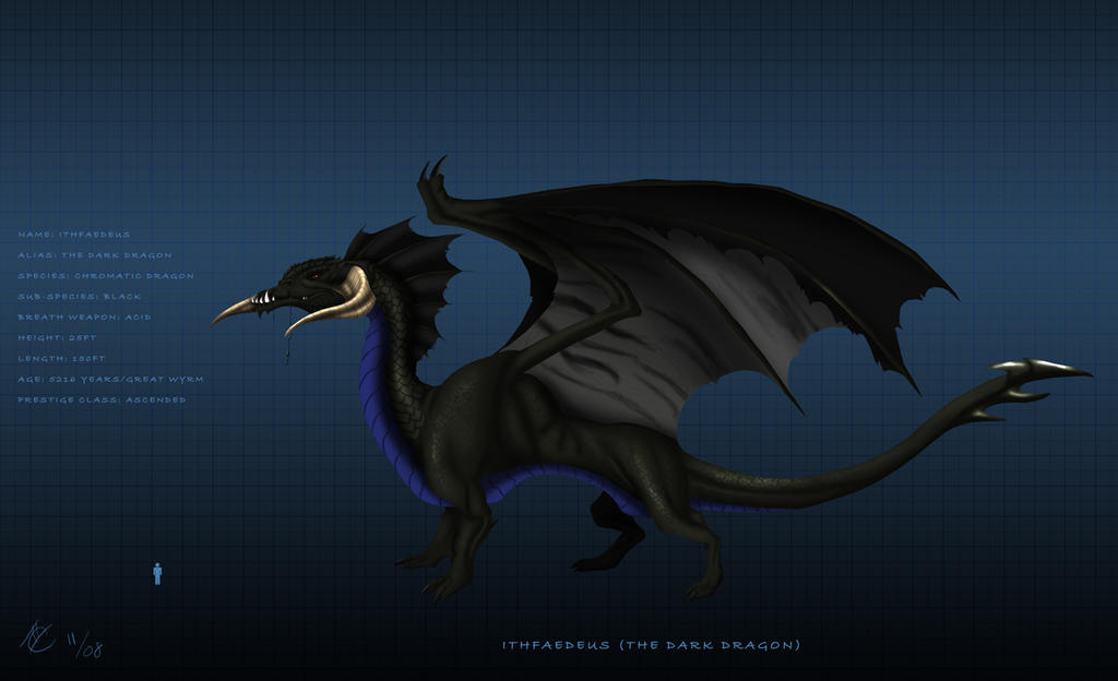 Dark Dragon character sheet by Ghostwalker2061