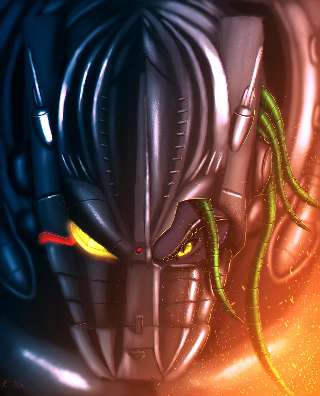 Mechagodzilla's Eye by Ghostwalker2061