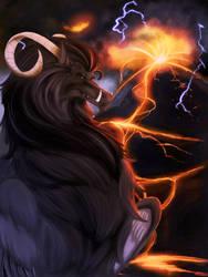 Black Dragon of Silver Star by Ghostwalker2061