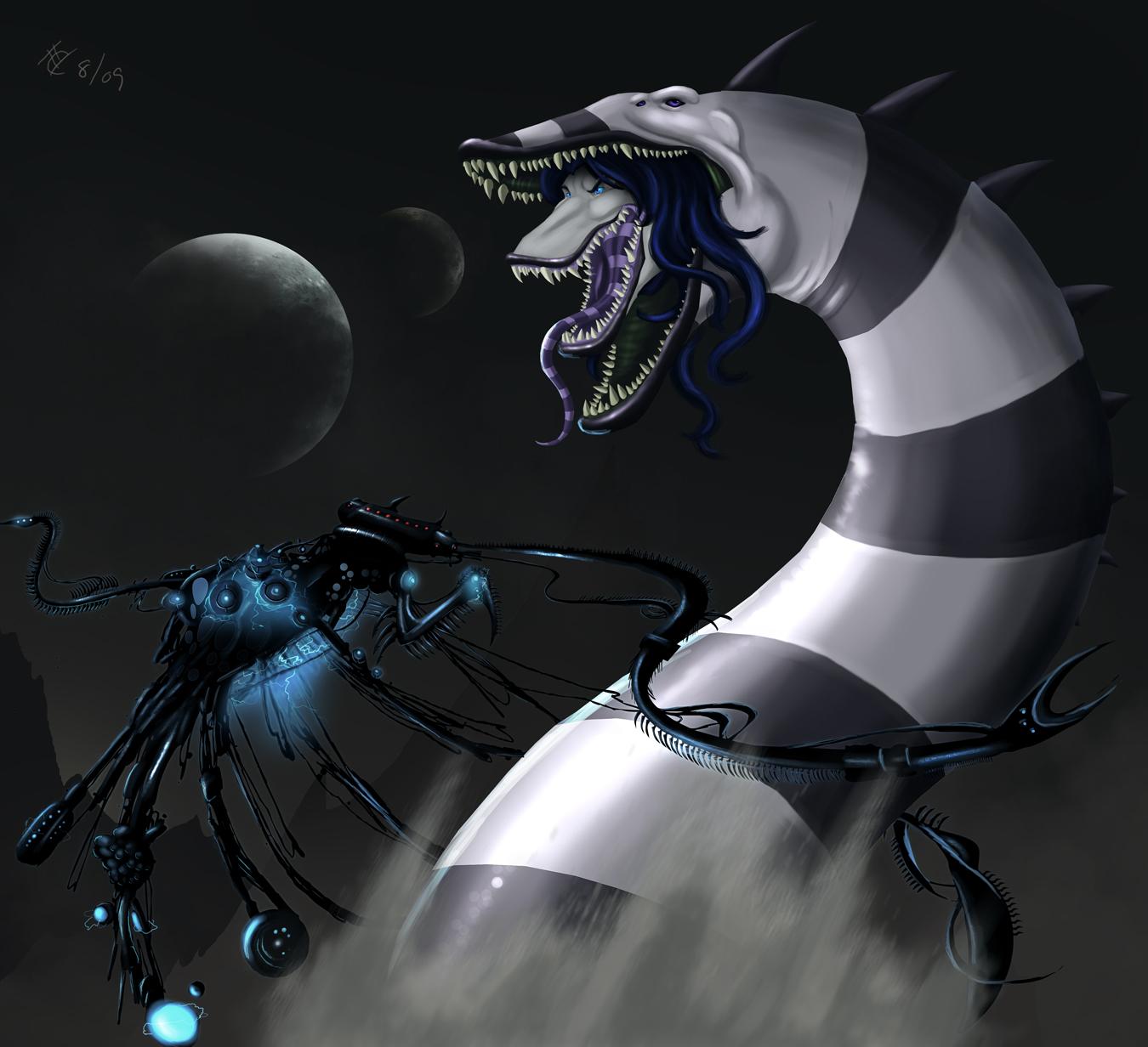 The Sandworm by Ghostwalker2061