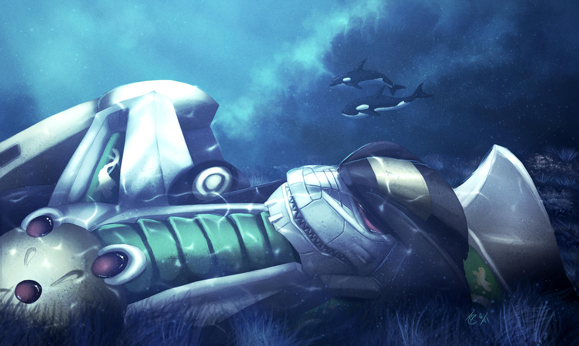 Slumbering Dragon Caesar II by Ghostwalker2061