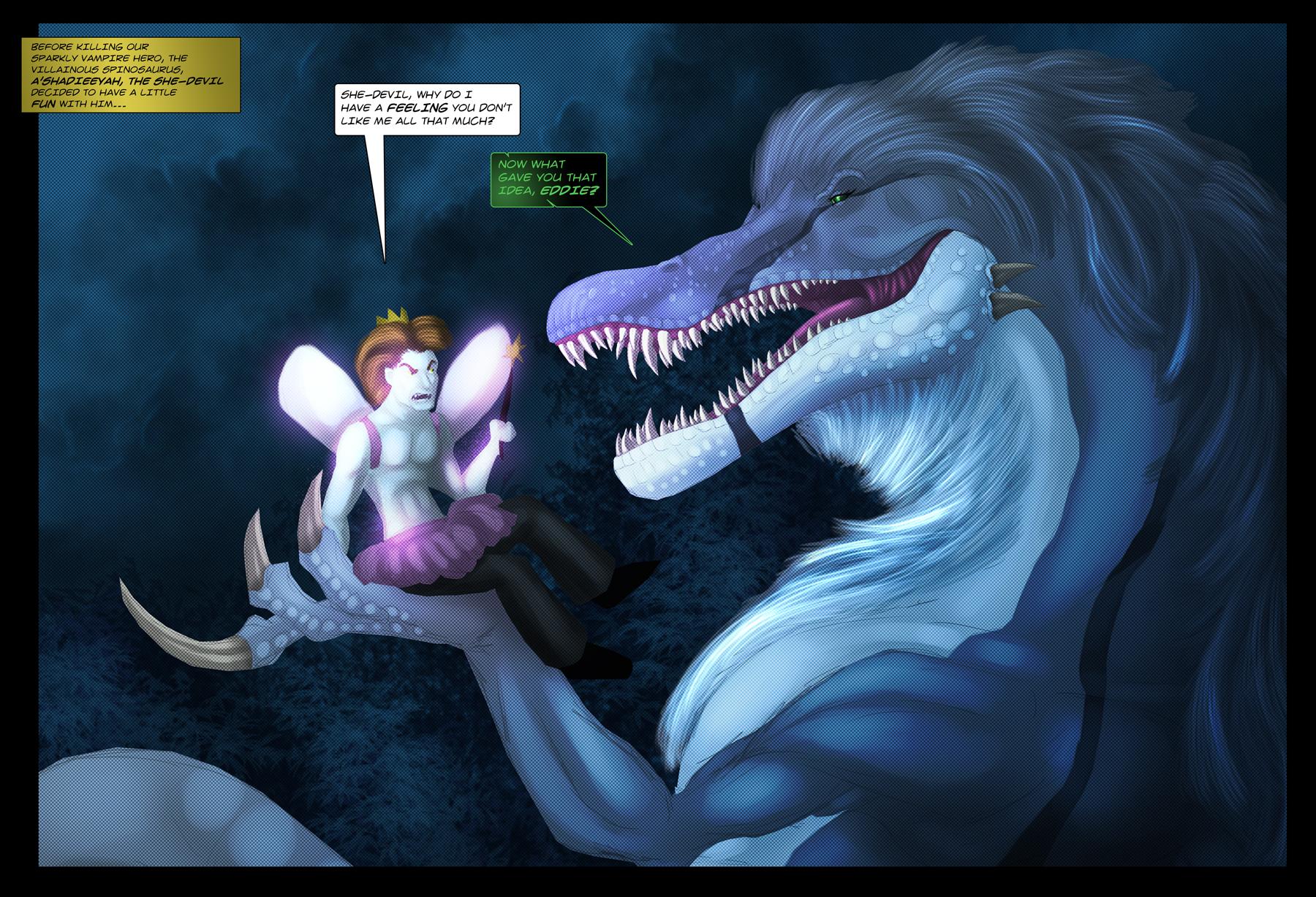The She-Devil Returns to Forks by Ghostwalker2061