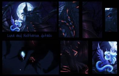 Luna and Nel details by Ghostwalker2061