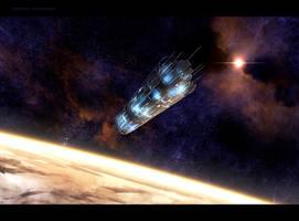 Arrival to Arrakis by Ghostwalker2061