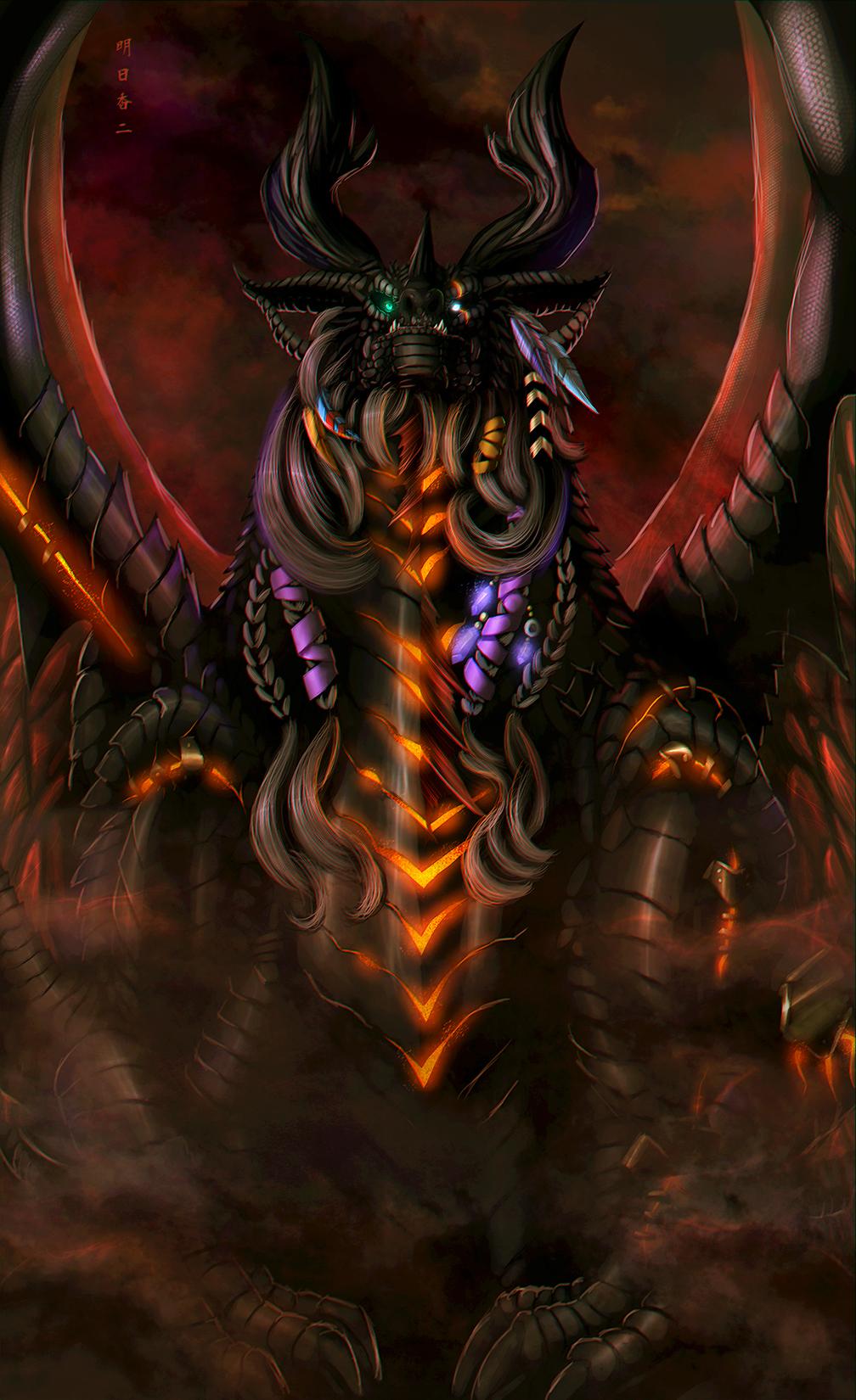 Dragon Shaman 1 by Ghostwalker2061
