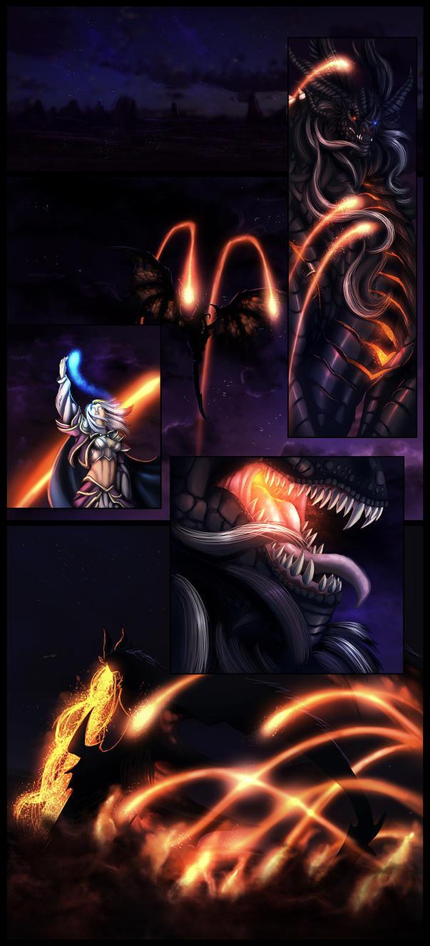 A Land In Flames By Ghostwalker2061 On Deviantart