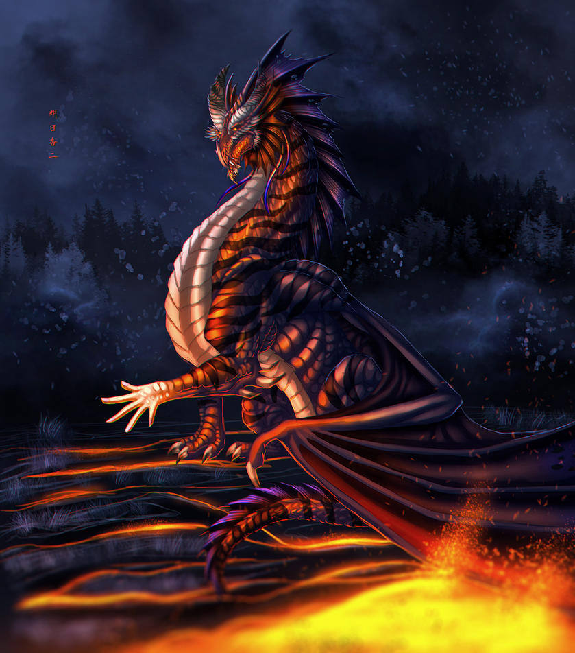 Burning Human by Ghostwalker2061