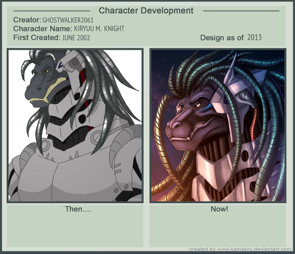 Character Development: Kiryuu M. Knight by Ghostwalker2061