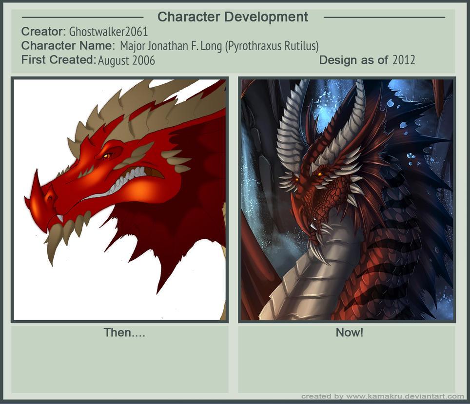 Character Development: Jonathan Long by Ghostwalker2061