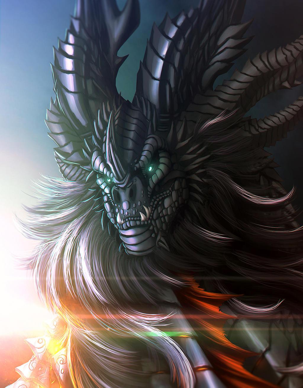 Neltharion the Worldmender by Ghostwalker2061