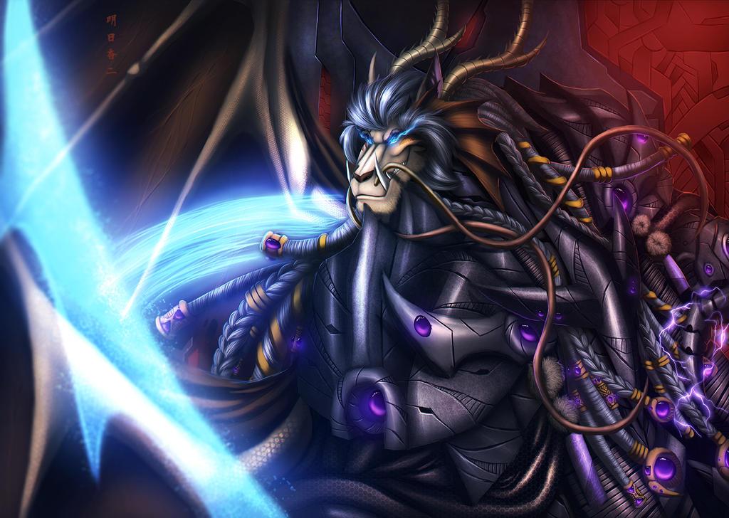 Emperor Cerenath Khan by Ghostwalker2061