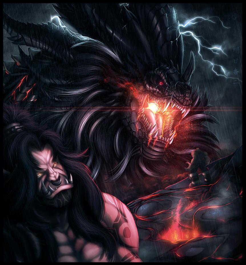 The Black's Rage by Ghostwalker2061