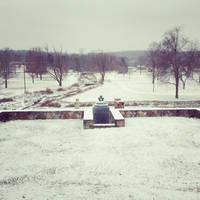 International Friendship Bell in the Snow