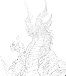 Knaak's Neltharion sketch