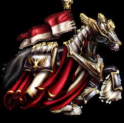 Balios, Steed of Alumorel by ladylyzar