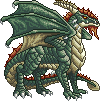 Plated Colossus Dragon, Female by ladylyzar