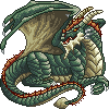 Plated Colossus Dragon, Male by ladylyzar