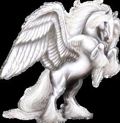 White Shire Pegasus