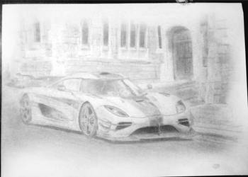 Koenigsegg One:1 by Hikkimaou
