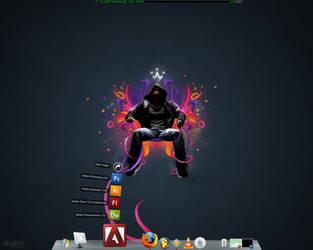 desktop by radioactivity