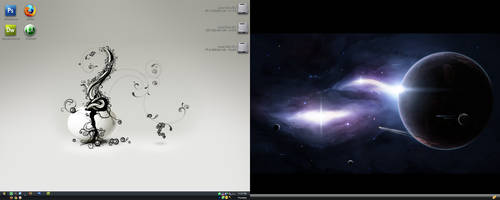 Current Desktop by radioactivity