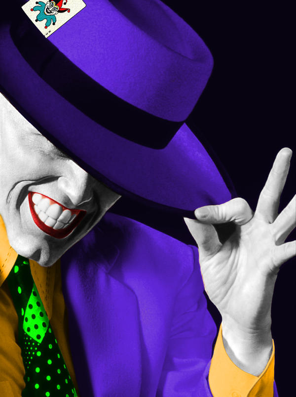 The Mask in The Joker's Colors by CodeXCDM