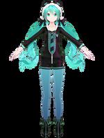 YYB Green Tanuki WIP #1 by Malik-Hatsune