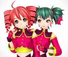 Raspberry Girls by Malik-Hatsune