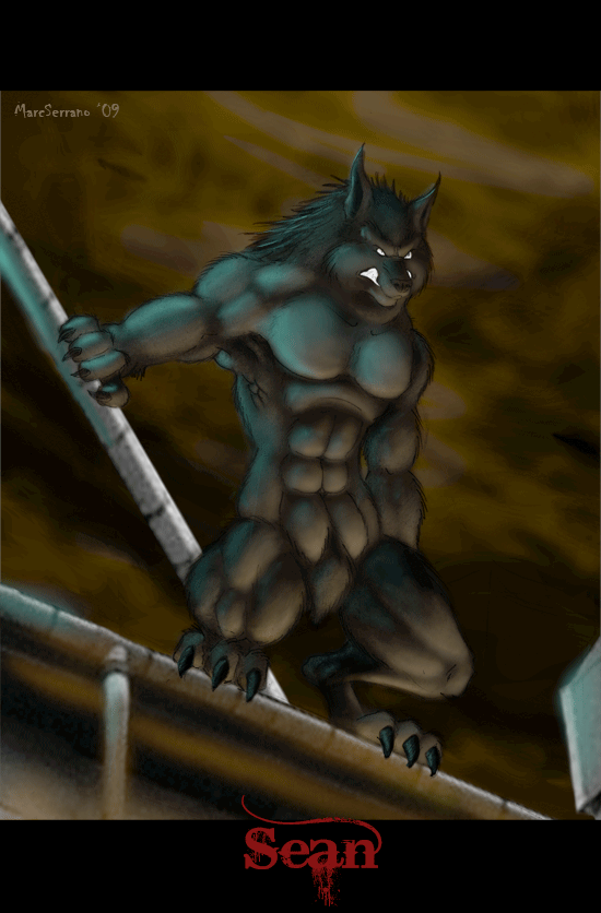Sean Werewolf by MarcSerrano