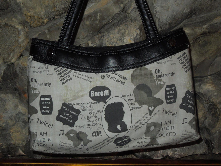 Sherlocked Purse by Timestitcher