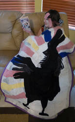 GISHWHES 2013 #118 The Wooster Sock Quilt by Timestitcher