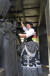 GISHWHES 2013 #71 Steampunk on a Train by Timestitcher